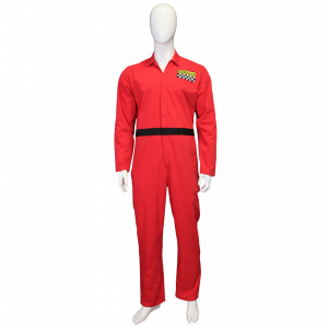 Red Gizmonics Jumpsuit